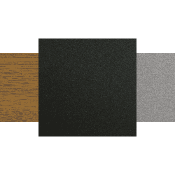 overview of different sectional door colours