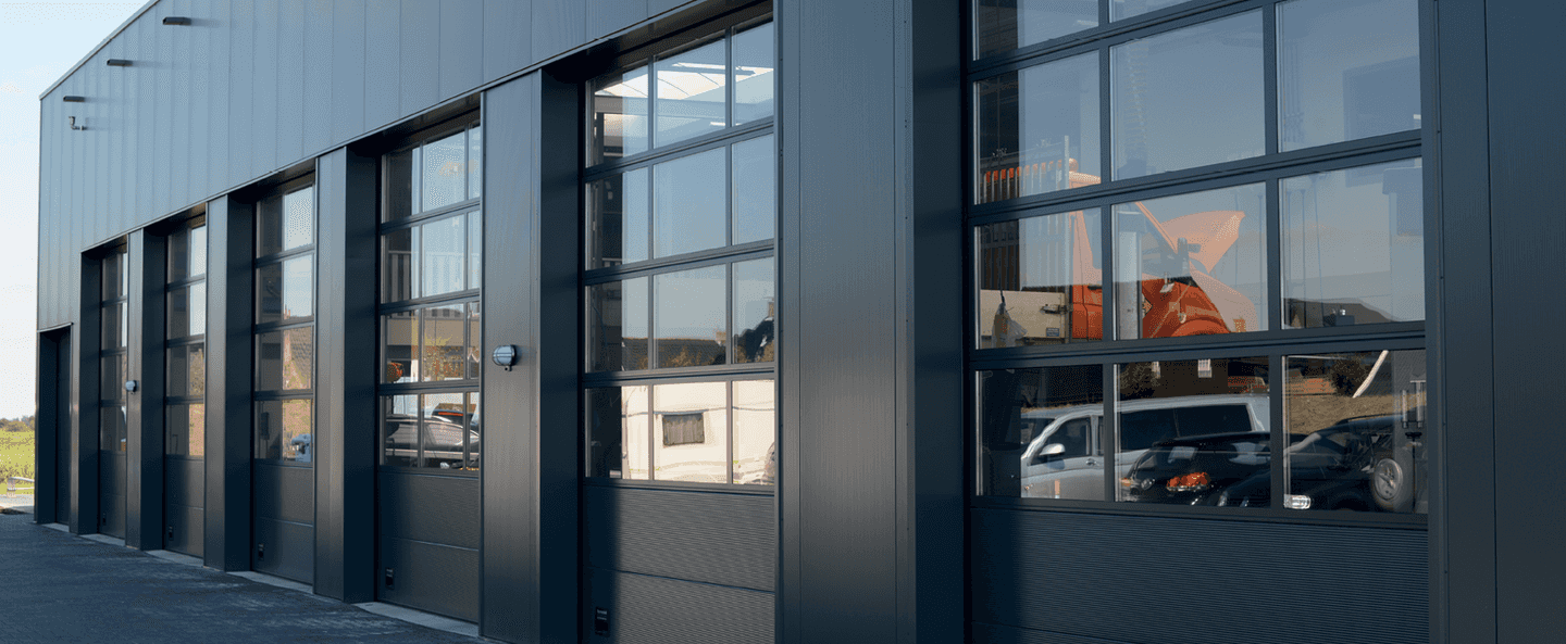 OSF42A Industrial door in anthracite