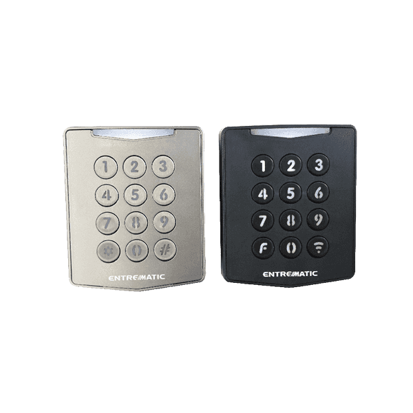 remote code switch in silver and black